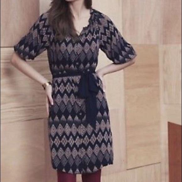 Anthropologie Dresses & Skirts - Anthro Edme & Esylite Rugged Carats Shirtdress